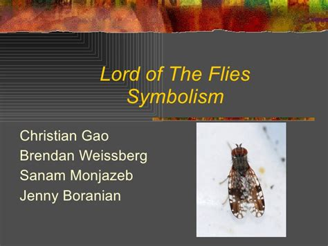 symbols in lord of the flies chapter 2 lord of the flies