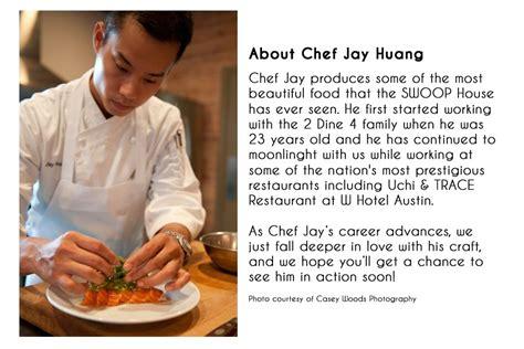 chef huang bio showcase