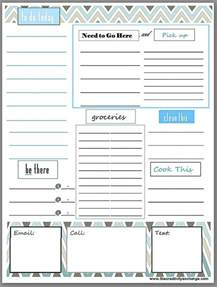 to do template free printable daily to do list free printables