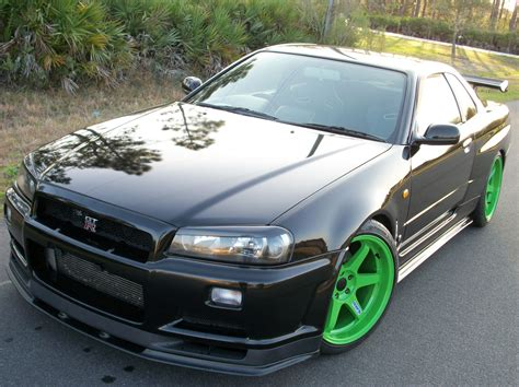 nissan r34 black skyline gtr r34 for sale in florida