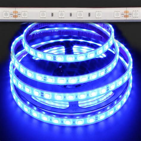 blue waterproof 5050 72w led light