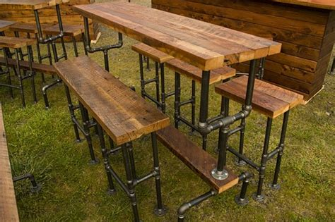 Iron Pipe Bar Stool by Industrial Bar Stool Made From Cedar Or Barn Wood And