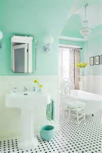 Mint green paint colors vintage bathroom benjamin moore spirit in