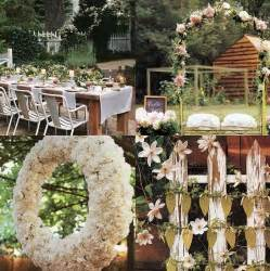 Rustic Garden Wedding Ideas A Rustic Outdoor Wedding Wedding Ideas Pinterest