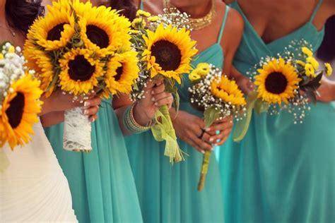 Wedding Bouquet Sets by Wedding Bouquet Set Sunflower Bouquet Wedding Bouquet