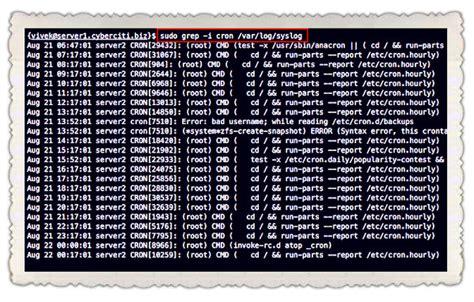 tutorial cron linux ubuntu 16 04 create a cron log file to log crontab logs