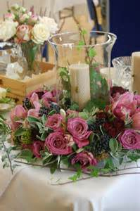flower arrangements with candles flowered hurricane candle flower arrangements