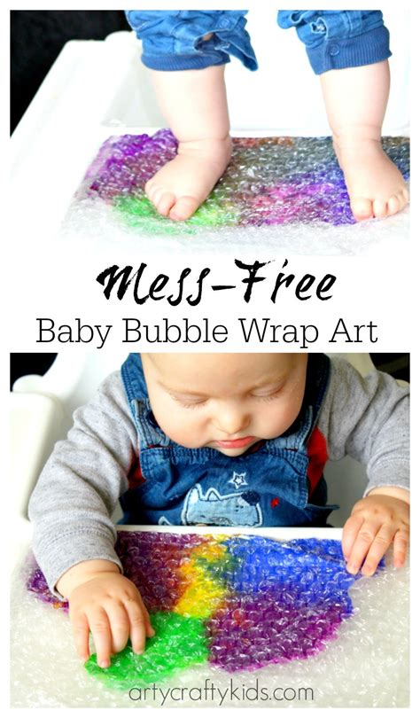 craft projects for babies baby wrap sensory baby toddler activity
