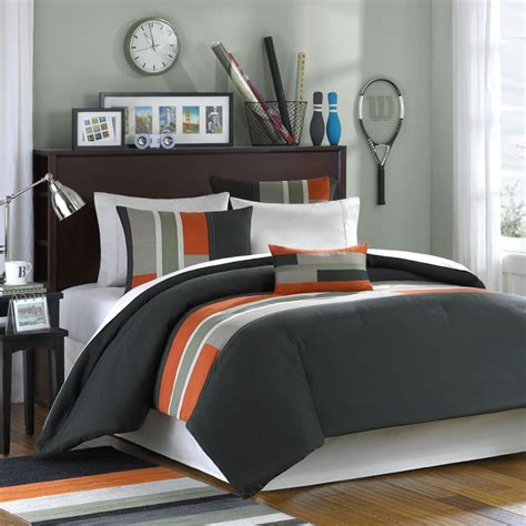 Fantastic Modern Boys Bedroom Pinterest Grey Bedding Bedding Sets And This Bedding For A Guys Room Home Decor Pinterest Rooms And