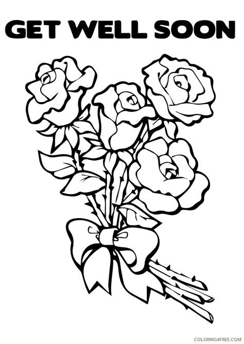 hello kitty get well soon coloring pages get well soon coloring pages care bears coloring4free