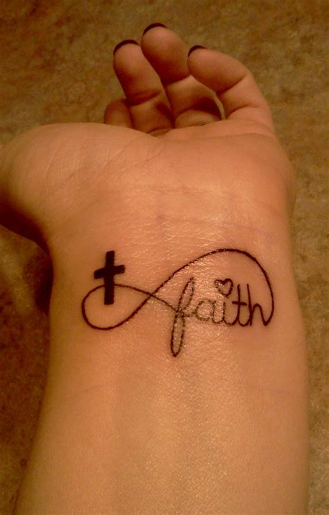 faith with cross tattoo tattoos and designs page 299