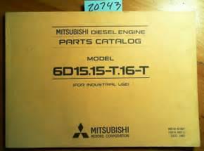 Mitsubishi 6d15 Mitsubishi 6d15 15 T 16 T Diesel Engine Parts Catalog