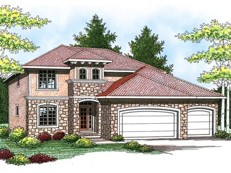 sandollar italian style home plan 051d 0581 house plans
