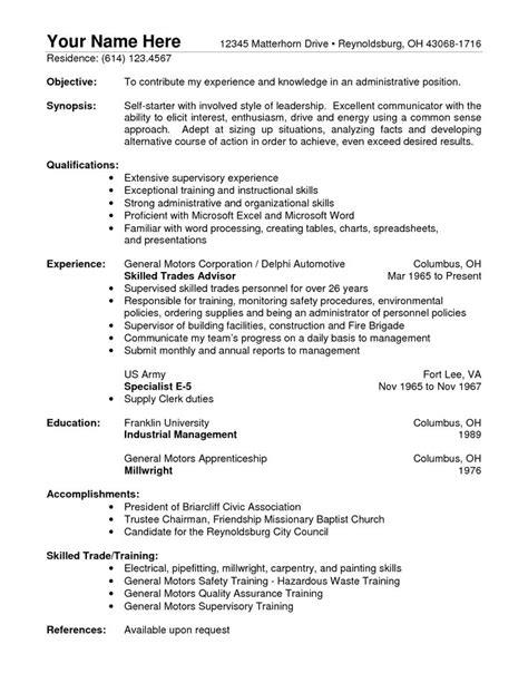 warehouse resume sample resume example