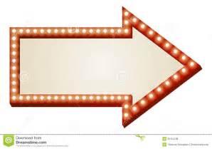 arrow lights sign royalty free stock photos image 26154138