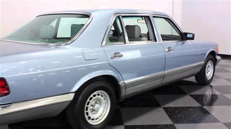Mercedes Dfw 526 dfw 1985 mercedes 500 sel