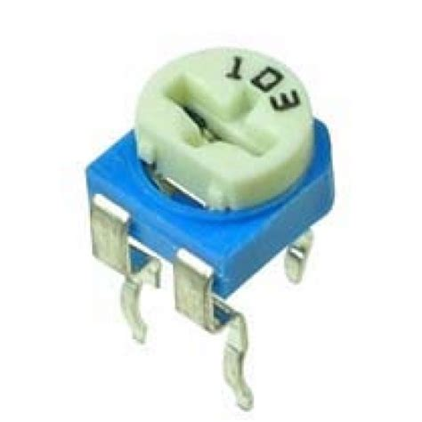 datasheet resistor variable 10k 10k ohm trimpot variable resistor 6mm