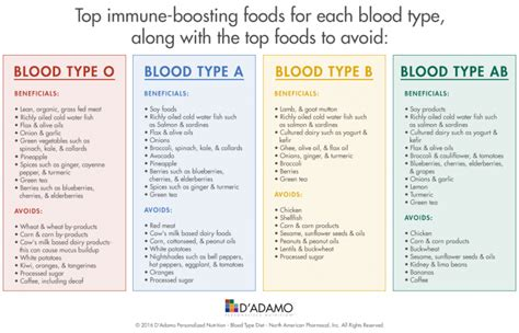 blood type diet chart chart blood type diet chart