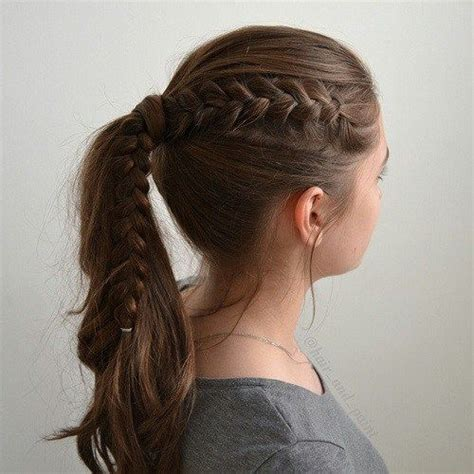 cool easy hairstyles for school photos 40 and cool hairstyles for ponytail and hair style