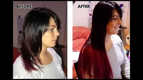 bellami over luxy hair extensions clip on hair extensions before and after pics then you