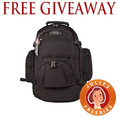 Backpack Giveaway - free jeep backpack giveaway julie s freebies