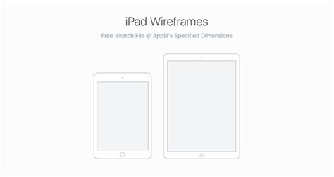 50 Free Wireframe Templates For Mobile Web And Ux Design Sketch App Templates