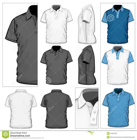 Polo Shirt Real Madrid By Mr Affan by S Polo Shirt Design Template Stock Photo Image 21564120