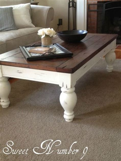 How To Paint A Coffee Table by Best 25 Refurbished Coffee Tables Ideas On