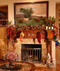 Christmas mantel decoration 3