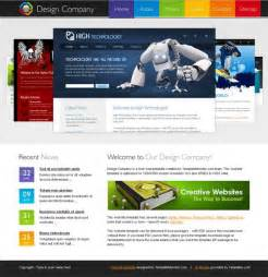 Html5 Template Free by Free Html5 Template For Design Company Website Monsterpost