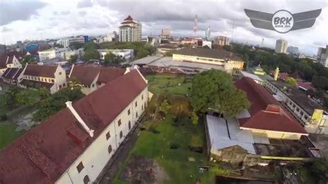 Gopro 5 Di Makassar benteng fort rotterdam makassar aerial