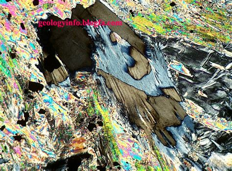 Talc Thin Section by Index Of Image Thin Section Of Minerals