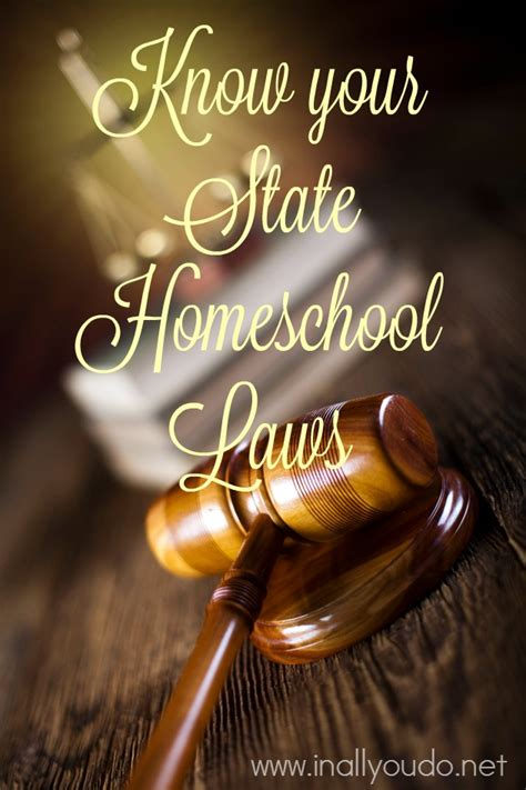 your state homeschool laws