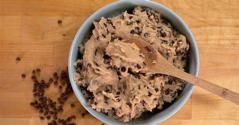 edible chocolate chip cookie dough recipe popsugar food