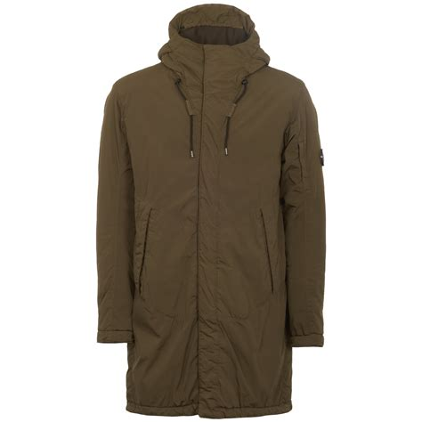 A6200 Cp Calvin Jaket cp company padded jacket olive mow005a 679