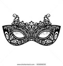 beautiful masquerade mask vector patterned design