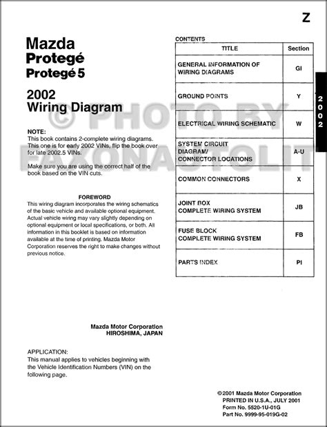 2002 protege wiring diagram wiring diagram with description
