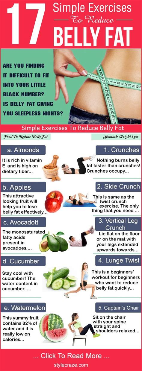 16 simple exercises to reduce belly reduce belly exercises and weight loss
