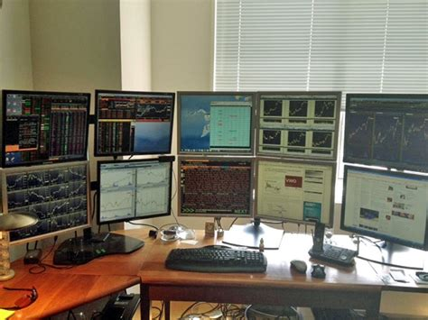 Home Trading Desk by Wall Trading Desks Business Insider