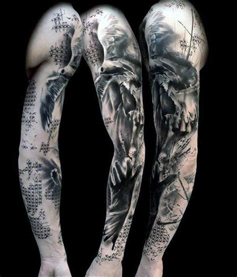 mens tattoo sleeve ideas top 100 best sleeve tattoos for cool designs and ideas