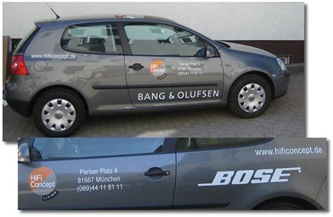 Magnetschild Auto by Fahrzeugbeschriftung Bei Sd Dirscherl Reklamemalerei