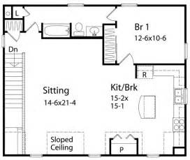 1 bedroom cottage plans 1 bedroom house plans