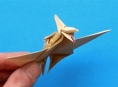 Origami Pterodactyl - pterodactyl origami 28 images origami pterodactyl by