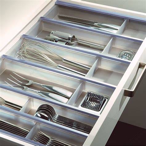 Kitchen Drawer System by Cuisio Translucent Kit Richelieu Hardware