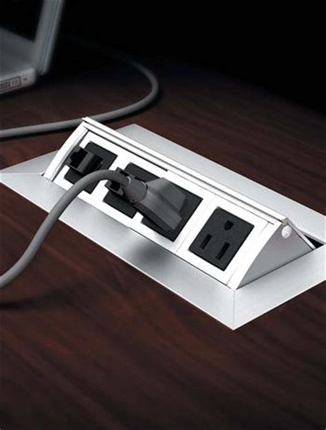 desk outlets power and data distribution conference power data video modules enhance your