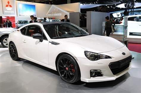 subaru brz white black rims subaru brz xt line concept shows off custom look autoblog