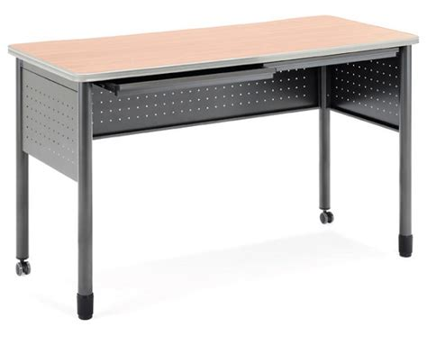 Standing Height Desks by Ofm 66141 Mesa Mobile Standing Height Desk