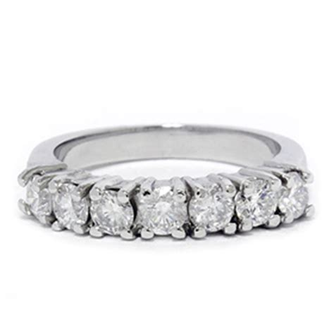 1ct 950 palladium wedding anniversary womens ring