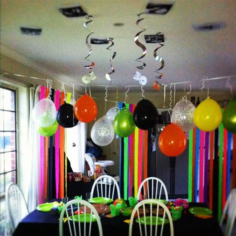 themes only party supplies decorating birthday party ideas pinterest 80th