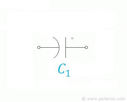 capacitor variation electrolytic capacitor symbols